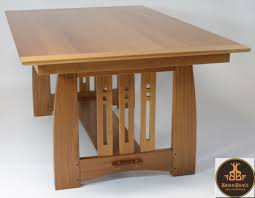 arts and crafts dining room furniture arts and crafts dining room table brian brace fine furniture