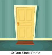 inside front door apartment. Cartoon Front Door - Illustration Of A Cartoon Front Door. Inside Door Apartment P