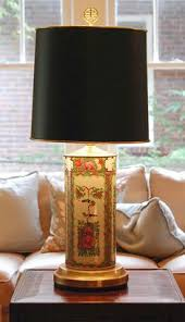 cordless antique asian chinoiserie porcelain and brass table lamp cordless lighting fixtures3 cordless