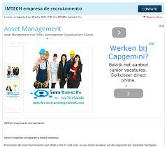 Beware Of Hoax Job Offers Imtech
