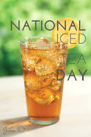 National Iced Tea Day June 10 Image