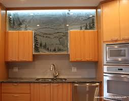 kitchen cabinets glass doors design style: image of glass cabinet doors in style