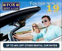 Image result for fox rent a car coupon