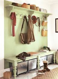 Bench And Coat Rack Set Mudroom Corner Hall Tree Narrow Bench Hallway Bench And Coat Hook 57