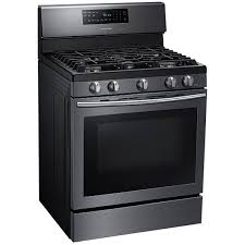 samsung black stainless stove. Fine Black Ft FreeStanding Gas Range With Convection Black Stainless  Samsung  For Black Stove G