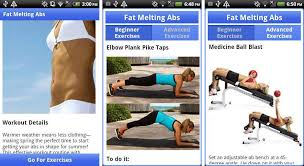 fat melting abs is a por application featuring effective workout and strength workouts targeted to develop a flat stomach and cardio bursts