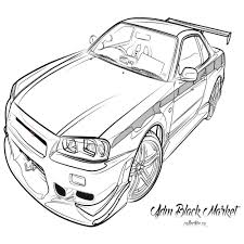 Gtr coloring pages 7322