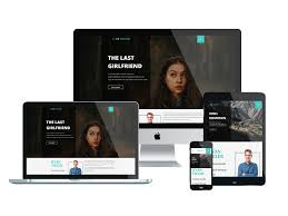 Free Responsive Website Templates Beauteous AT Writer Free Responsive Writer Website Templates