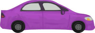 clipart rough car purple clipart library stock