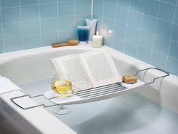 bathtubs accessories bathtub caddy with reading rack interior