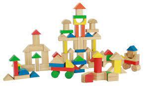 Bộ xếp hình sáng tạo 95 chi tiết bằng gỗ xuất khẩu
