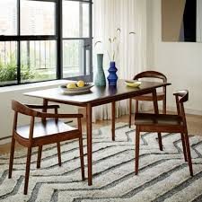 mid century expandable dining table. Image For Mid Century Expandable Dining Table West Elm P