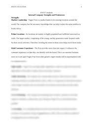 swot analysis essay brokers