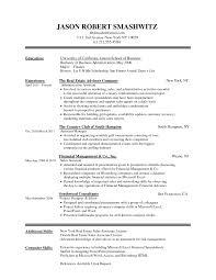 Online Resume Format Sample Free Template Forever Job Application