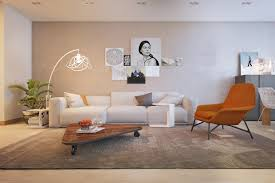 Burnt Orange Living Room Design Burnt Orange Chair Interior Design Ideas