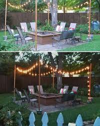 outdoor lighting ideas for backyard. 15 diy backyard and patio lighting projects outdoor ideas for n