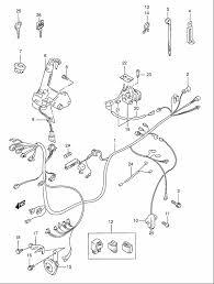 suzuki an e wiring harness model s t v w x parts suzuki an125 e2 1999 wiring harness model s t v w x parts
