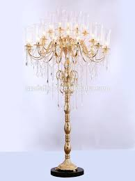 antique crystal chandelier floor lamps crystal