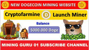 The complete beginner's guide on how to mine dogecoin. Online Earning Without Investment Cryptofarmine New Free Dogecoin Cloud Mining Site Signup Bonus 5 H S Daily 0 6 Doge Unlimited 2020 Subscribe Channel Https Cb Run Yd7l Website Link Https Cb Run Yxci Facebook