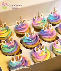 Unicorn Cupcakes Casa Cordial Cakes Creations In 2019 Unicorn
