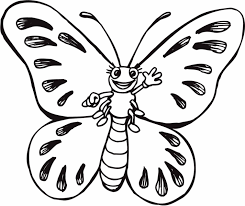 Butterfly Toddler Coloring Pages Print Coloring