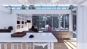 Lumion  Rendering Tutorials  Container HouseINTERIOR YouTube - Container house interior
