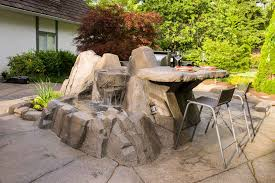 custom designed artificial rock work azuro concepts at home depot rocks making boulders and
