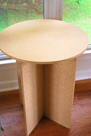 round decorator table admirable magnificent appearance particle board with medium image