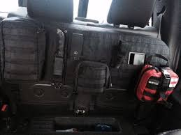 molle tactical rear seat cover show
