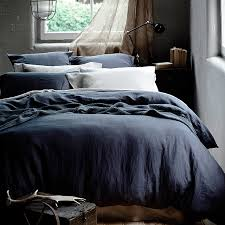 bedroom gray linen duvet cover attractive stonewashed grey made to order linenshed intended for 0