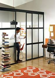 tempting wall divider with door decor and style influence opaque clear glass panels room partition folding