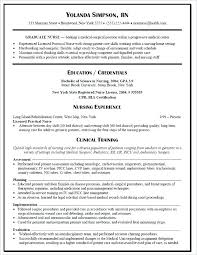 Sample Resume For Lpn Nurse Resume Bank
