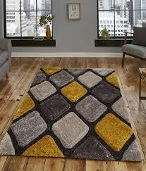 noble house rug nh9247 grey yellow