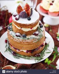 Dessert Table For A Wedding Cake Cupcakes Sweetness Fruits And
