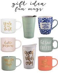 gift idea coffee mugs