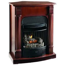procom gas fireplace logs er heater vent free natural inserts