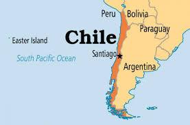 Capitale del cile sulla mappa - Mappa della capitale del cile (Cile)