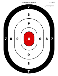 5 Best Photos Of Shooting Targets To Print Free Printable