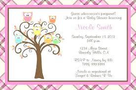 Free Birthday Invitations Templates For Kids Custom Free Printable Owl Baby Shower Invitations Templates Usgenerators