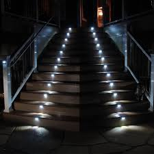 outdoor stair lighting elegant fabulous led outdoor step lights bomelconsult