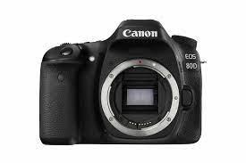 Canon EOS 80D 24.2 MP DSLR-Kamera - Schwarz (1263C027) online kaufen