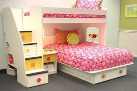 bunk beds for girls with stairs Bunk Beds for Girls Designed in