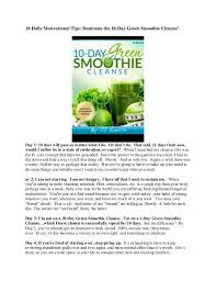 10 Day Green Smoothie Cleanse Pdf 10 Day Green Smoothie Cleanse Pdf Resume Examples Resume