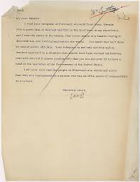 telegram from senator joseph mccarthy to president harry s truman click to enlarge