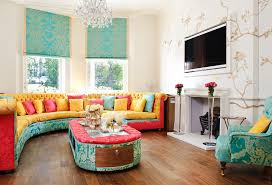 Orange Living Rooms 21 Colorful Living Rooms To Crave