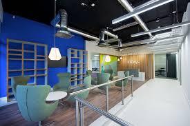 Office Interior Designers Dublin A Look Inside Infosys Modern Dublin Office Officelovin