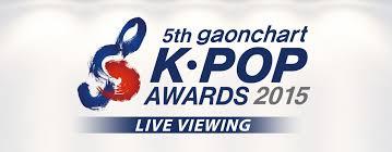 Gaon Chart Kpop Awards 2015