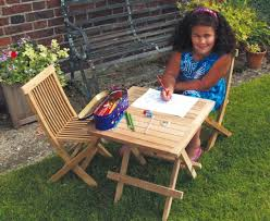 ashdown childrens garden table and
