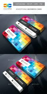 Avery 28371 Business Card Template Vibrant Multi Color Business Card Template Free Do Download