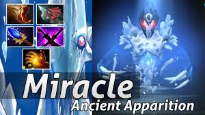 miracle ancient apparition carry build dota 2 epic moments youtube